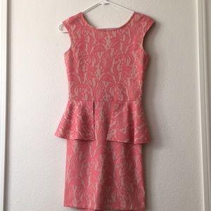 Pretty in pink dress! Zara